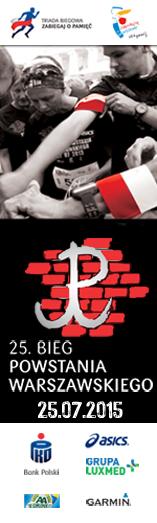 Bieg Powstania 2015 - pion