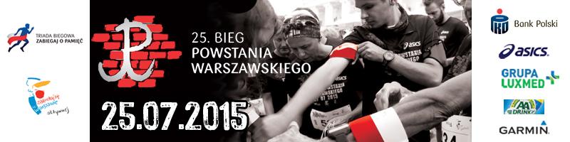 Bieg Powstania 2015 - poziom