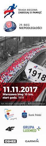 Bieg Niepodległości 2017 - pion