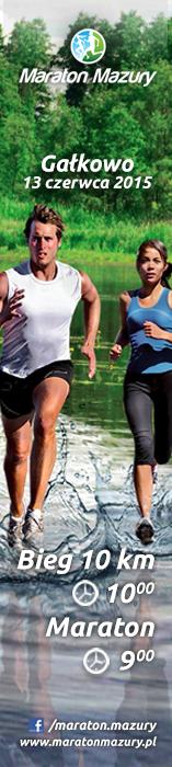 Maraton Mazury 2015 - pion