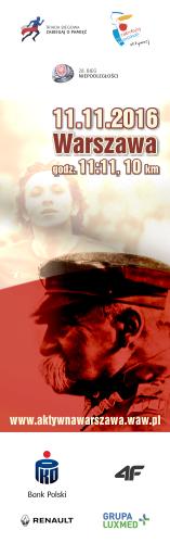 Bieg Niepodleg�o�ci 2016 - pion