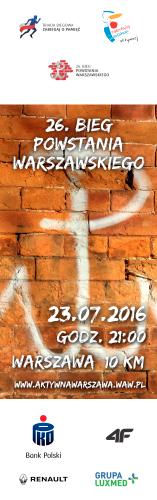Powstanie Bieg - 2016 - pion