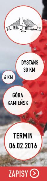 Trail Kamie�sk - zima 2016 pion
