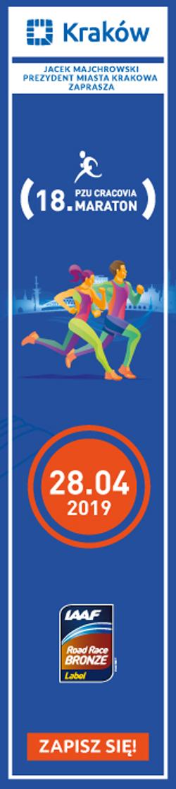 Kraków Maraton 2019 - pion