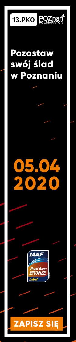Poznań Półmaraton 2020 - pion
