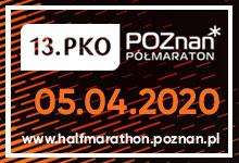 Poznań Półmaraton 2020 - kostka