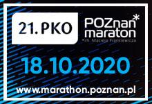 Poznań Maraton 2020 - kostka