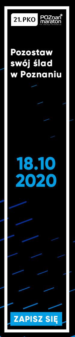 Poznań Maraton 2020 - pion