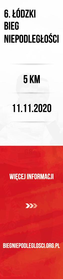 Bieg Niepodległości - Łódź 2020 - Pion
