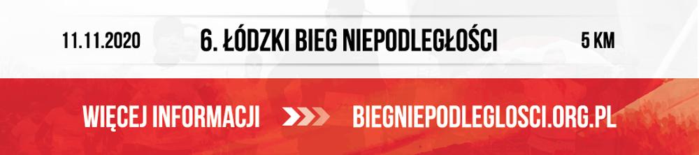 Bieg Niepodległości - Łódź 2020 - TOP