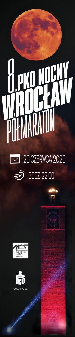 Wrocław Półmaraton 2020 - Pion