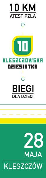 Kleszczów - Dyszka 2017 - pion