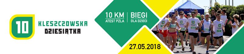 Kleszczow Dziesiatka - 2018 - top