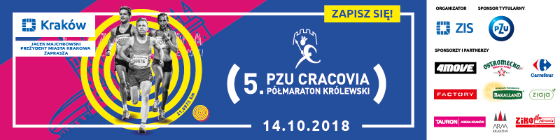 Kraków Półmaraton - 2018 - top