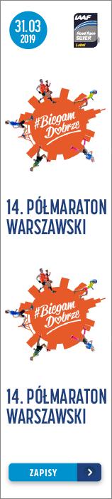 Półmaraton Warszawski - 2019 - pion