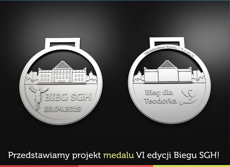 Medal Bieg SGH