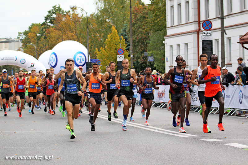 maraton warszawski lead 2019