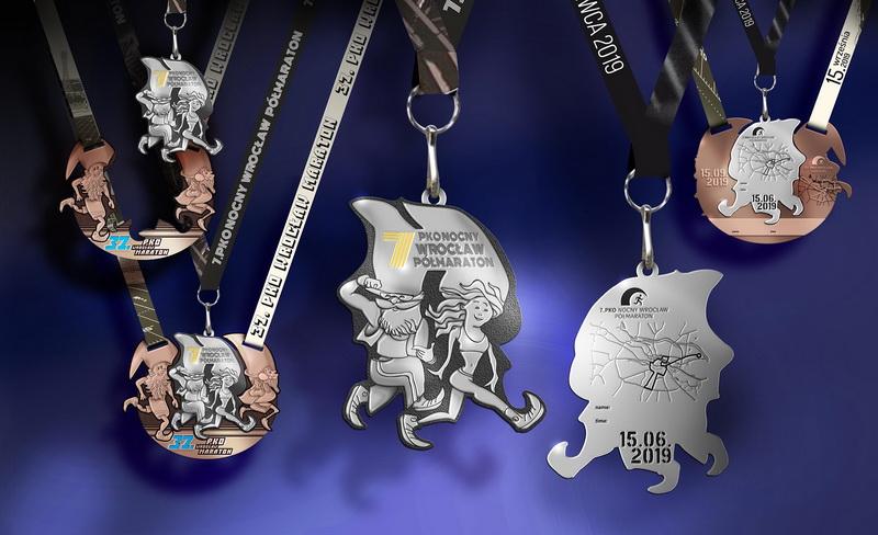 medale polmaraton wroclaw