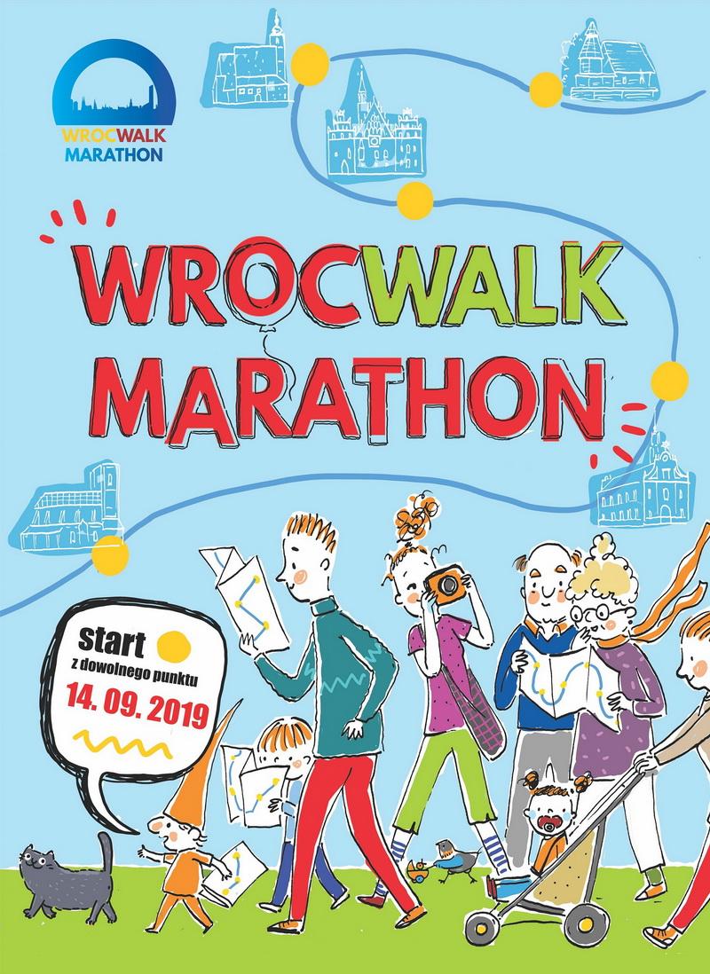 plakat wrocwalk marathon 2019