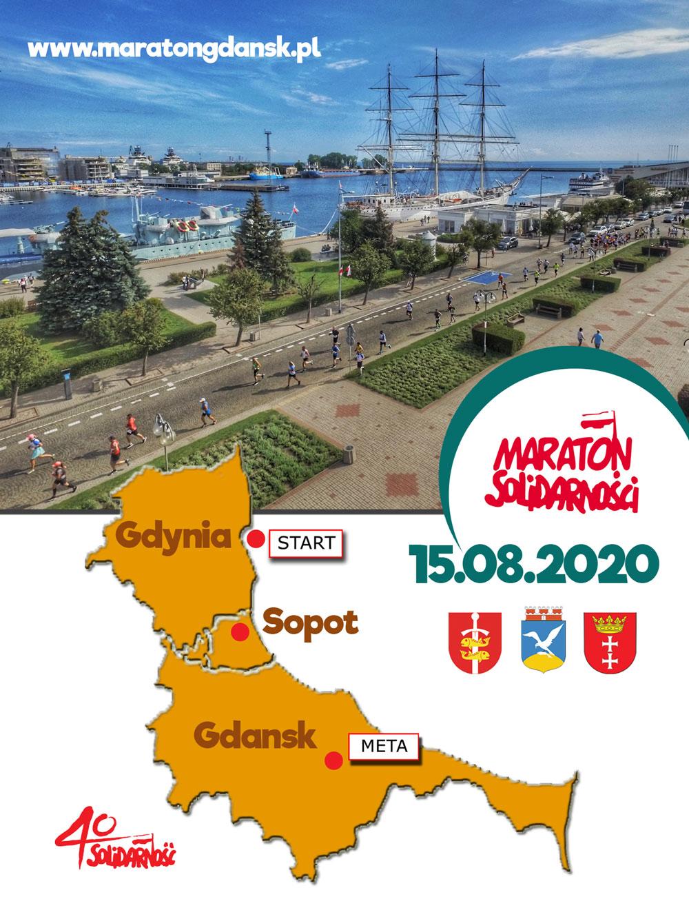 ulotka 26 maraton solidarnosci logo maratonu