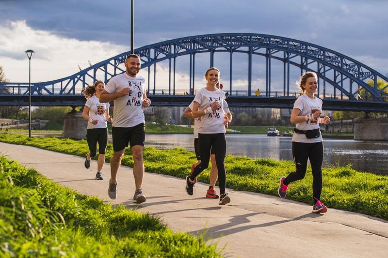 Biegacze biegu PBR 4