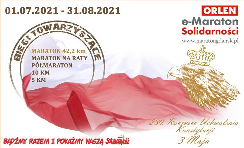 Maraton Solidarnosci 2021 plakat fb