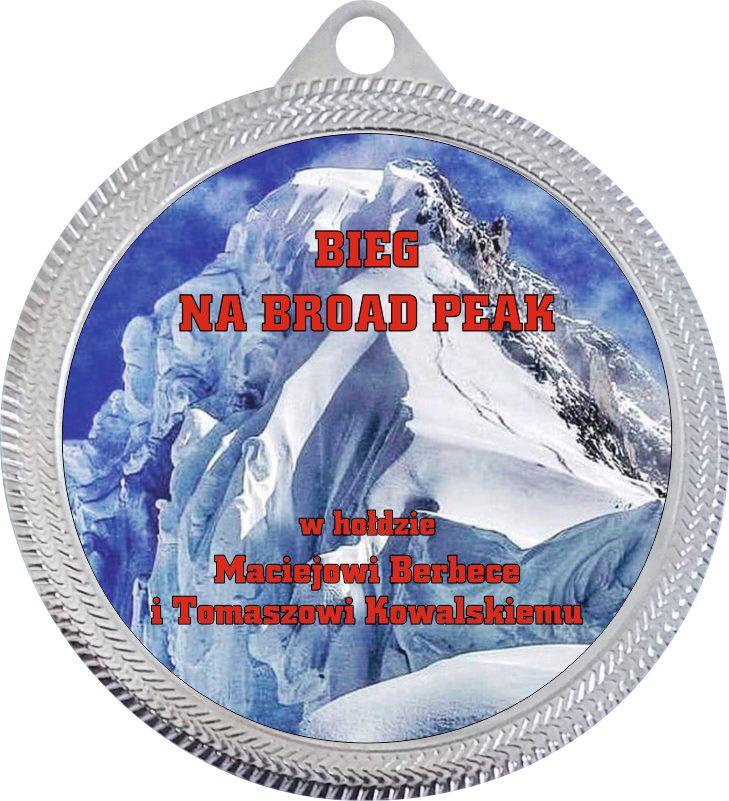 bieg broad peak medal