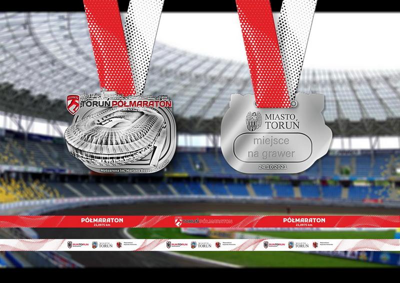 medal półmaraton